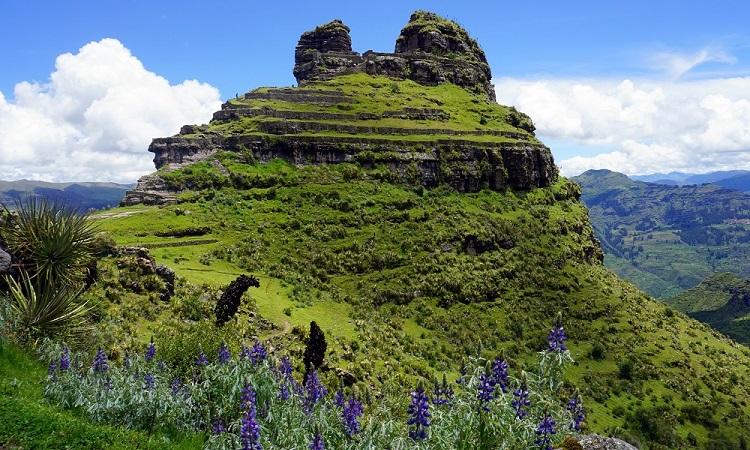 Waqra Pukara, a legszebb fekvésű inka romváros